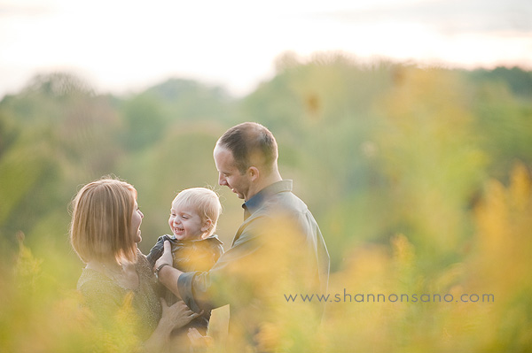 Fall family portraits in Columbus Ohio
